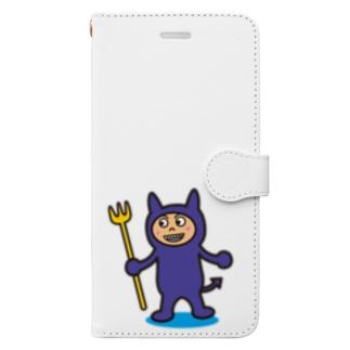 破壊王子・デビルくん Book-style smartphone case