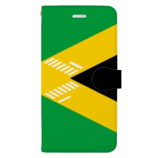 交差点ジャマイカ!? Book-style smartphone case