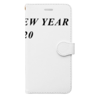 HAPPY NEW YEAR 2020 Book-style smartphone case