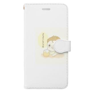 ぶらぶらしないでね Book-style smartphone case