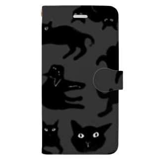 黒猫倶楽部 Book-style smartphone case