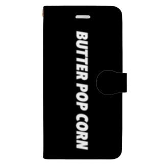 BUTTER POP CORN Book-style smartphone case