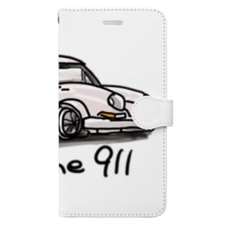 ポルシェ Book-style smartphone case