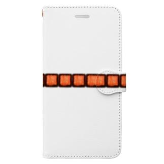 合い挽きミンチ Book-style smartphone case
