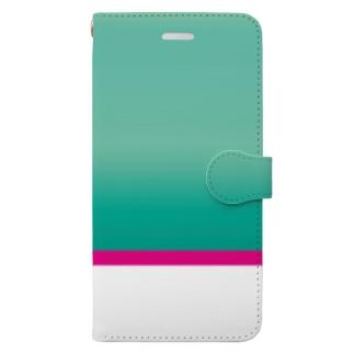 はやぶさ柄 Book-style smartphone case