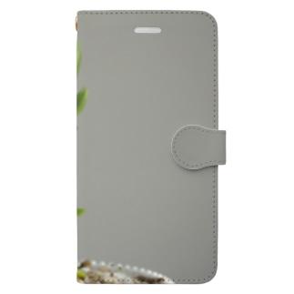 多肉植物B Book-style smartphone case