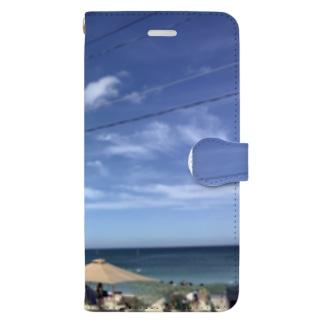 幸ある海 Book-style smartphone case