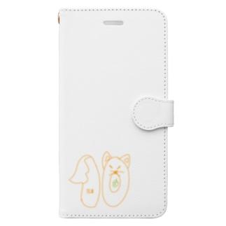 TEN【キツネver】 Book-style smartphone case