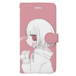 yura スマホケース Book-style smartphone case