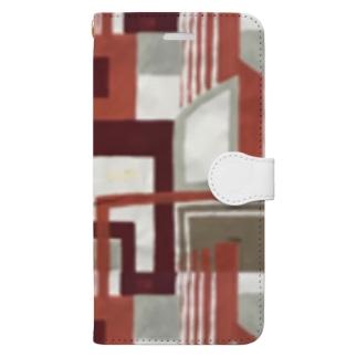 建物 Book-style smartphone case