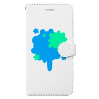 インクスター Book-style smartphone case