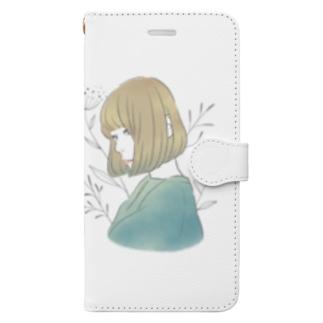 ぼぶ子さん Book-style smartphone case