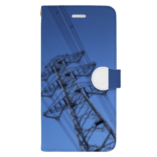 BLUE SKY COMPLEX Book-style smartphone case