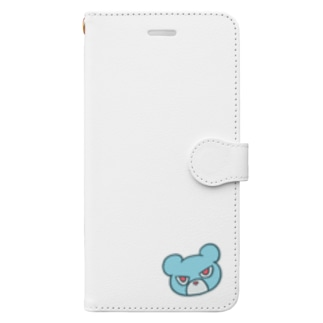 目つきの悪いクマ Book-Style Smartphone Case