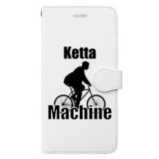 ケッタマシーン Book-style smartphone case