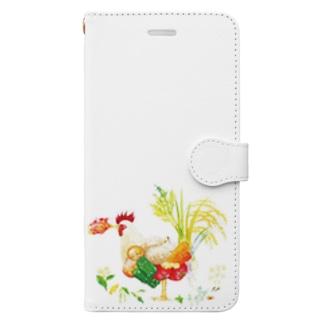 はるかなるカレー Book-style smartphone case