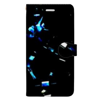 宇宙への想い Book-style smartphone case
