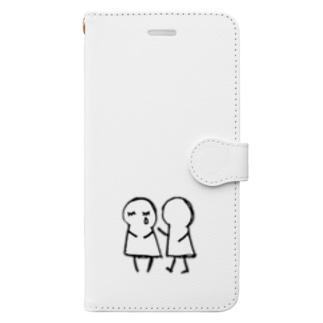 あなた が たいせつ。(文字なし) Book-style smartphone case