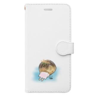 なんにでもつっこみたい。たこ焼きちゃん Book-Style Smartphone Case