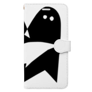 ハッピーエイリアン Book-style smartphone case