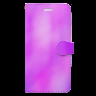 あき。のmarble×PeoplePink Book-style smartphone case