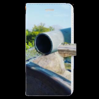 yuta05261212_cityriver990526のnature of nature Book-style smartphone case