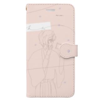 もしもしとききら Book-style smartphone case
