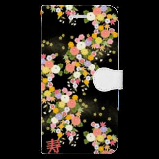 Swa86387072のざ!和調! Book-style smartphone case