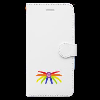 アメリカンベースの楽園  Book-style smartphone case