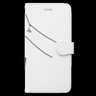 gozoloperのCUBE Book-style smartphone case