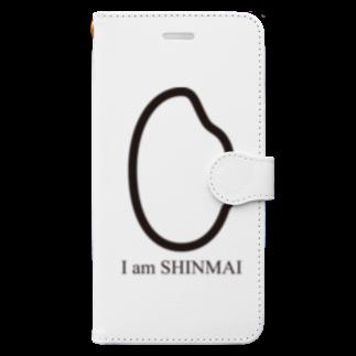 AmberToneのI am 新米 Book-style smartphone case
