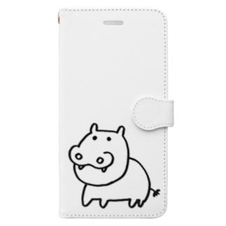 カバお Book-Style Smartphone Case