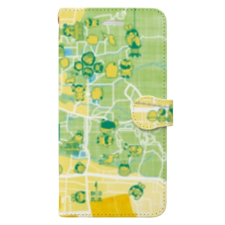 きんならマップ Book-style smartphone case