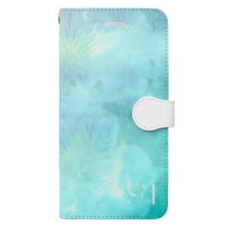 cosmo green スマホケース Book-style smartphone case