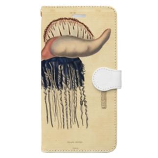 クラゲ Book-style smartphone case