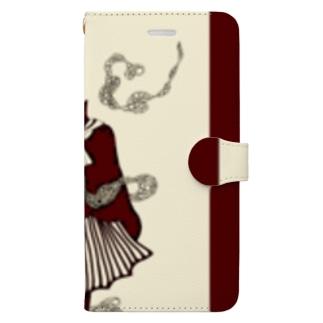 真っ赤な青春 Book-style smartphone case