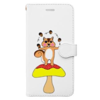 ユリスの森Ⅱ Book-style smartphone case