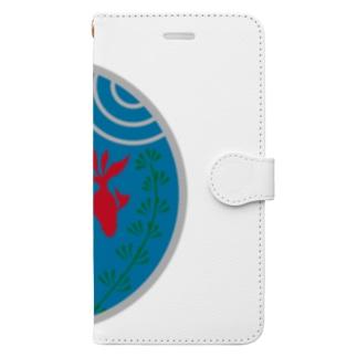 金魚・丸 Book-style smartphone case