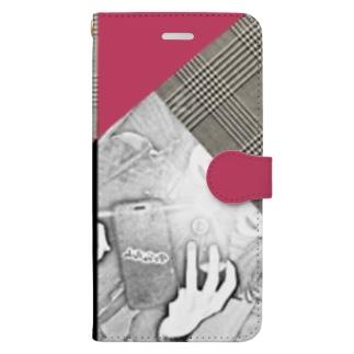 マトリョーシカバー Book-style smartphone case