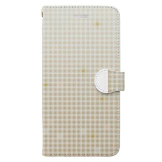 きんきらなスマートフォンケース Book-style smartphone case