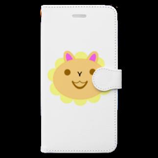 しる猫☆ミ雑貨店の得体の知れない動物 Book-style smartphone case