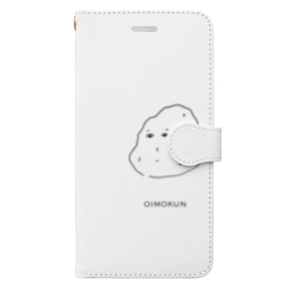 蒙楽のお芋くん Book-style smartphone case
