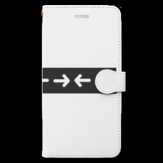*MONOGATARIの上上下下左右左右 Book-style smartphone case