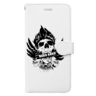 爆★楽 Book-style smartphone case