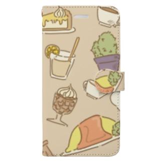 喫茶かくりよ Book-style smartphone case