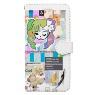 306★月山いつこ作品●雪空■キュ2 Book-style smartphone case