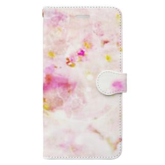 春の訪れ スマホ手帳型 Book-style smartphone case