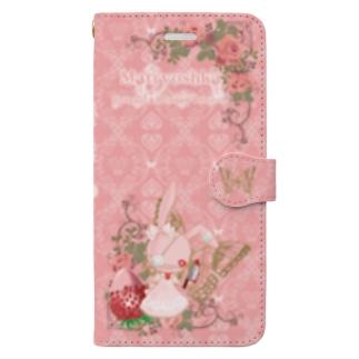 まとiphoneケース7・8plus用 Book-style smartphone case