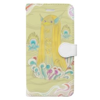 あまびえ様 Book-style smartphone case