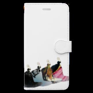 ファッションうるいどのforest dress  Book-style smartphone case